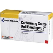 First Aid Only™ Conforming Gauze Roll Bandage, 2, 2/box