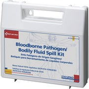 First Aid Only™ Bloodborne Pathogen/Bodily Fluid Spill Kit, Plastic Case