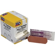 First Aid Only™ Adhesive Bandage, Heavy Woven, 1 x 3, 50/box