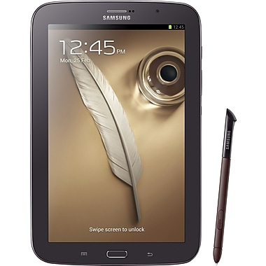 Samsung Galaxy Note 8 16GB Tablet, Black/Brown
