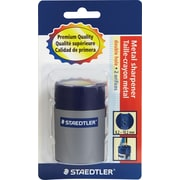 Staedtler® Double-hole Tub Pencil Sharpener, Black, Each