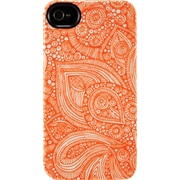 Uncommon Orange Doodle iPhone 4/4S