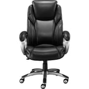 Staples Coopersly® Bonded Leather Managers Chair, Black