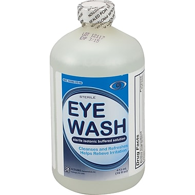 First Aid Only Eye Wash, 16 oz