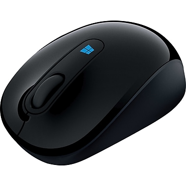 Microsoft Sculpt Wireless Mobile Mouse (43U-00002), Black