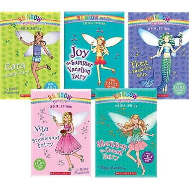 Rainbow Magic Special Edition Fairy Collection, 5 Books