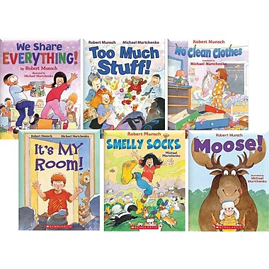 Scholastic Robert Munsch Favourites, 6 Book Collection