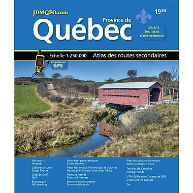 MapArt 2013 Quebec Road Atlas