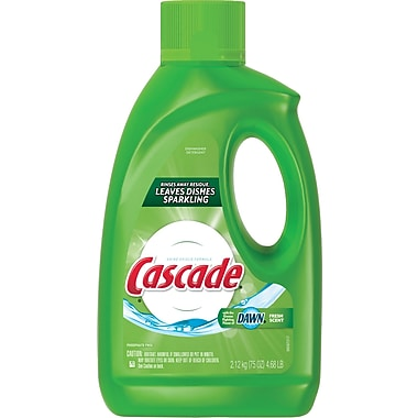 Cascade Fresh Scent Gel, 75 oz