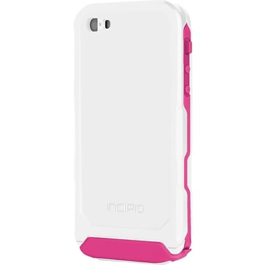 Incipio Atlas for iPhone 5, White / Pink