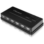 Aluratek 10-Port USB 2.0 Hub with AC Adapter