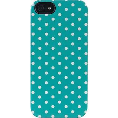 Mini Dots Teal iPhone 5 TS Deflector