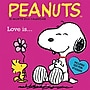 2014 Graphique Peanuts Monthly Multi-Color Illustration Deco Wall