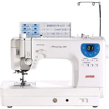 Janome Memory Craft Professional Sewing & Quilting Machine, Model MC6300