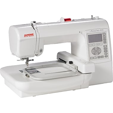 Janome Memory Craft Embroidery Machine, Model 200E