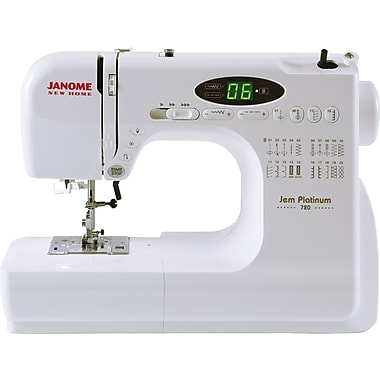 Janome Jem Platinum Sewing Machine, Model 720
