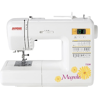 Janome Magnolia Computerized Sewing Machine, Model 7330
