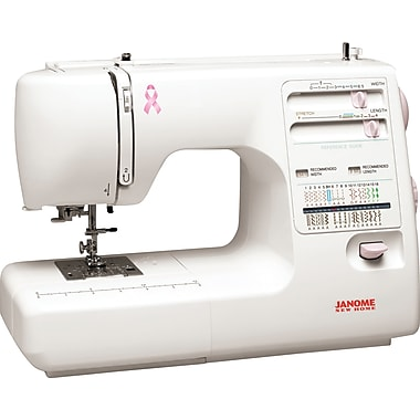 Janome Pink Ribbon Sewing Machine, Model MS5027PR