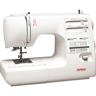 Janome Pink Ribbon Sewing Machine, Model MS5027PR