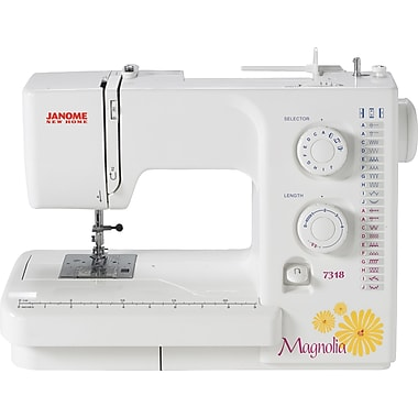Janome Magnolia Sewing Machine, Model 7318