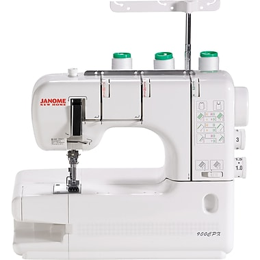 Janome Coverpro Sewing Machine, Model 900CPX