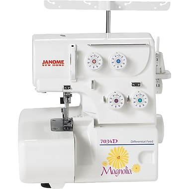 Janome® Magnolia Serger Sewing Machine, Model 7034D