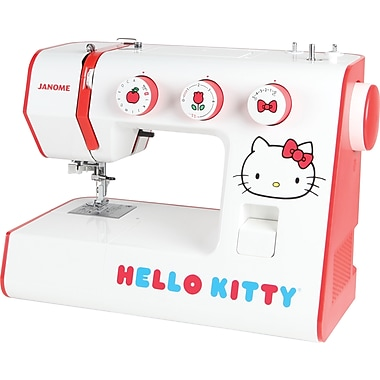 Janome Hello Kitty Sewing Machine, Model 15822