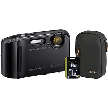 Sony DSCTF1 Water Resistant Digital Camera Kit
