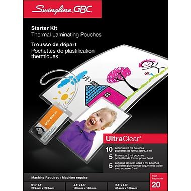 SwinglineMD – Nécessaire de départ de pochette pour plastification à chaud GBC