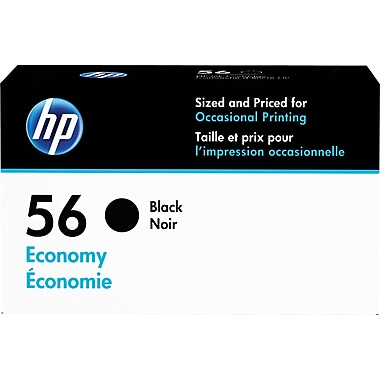 HP 56 Economy Black Ink Cartridge (D8J31AN)