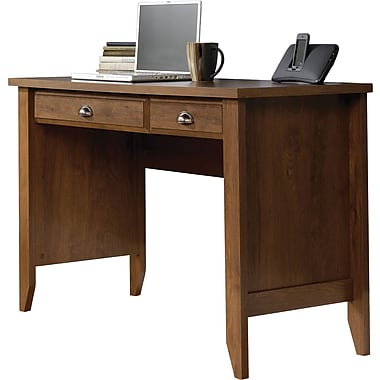 Sauder Shoal Creek Computer Desk, Oiled Oak