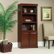 Sauder Heritage Hill Library Shelf, with Doors