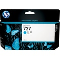 HP 727 130ml Cyan Ink Cartridge (B3P19A), High Yield