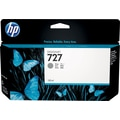 HP 727 130-ml Gray Ink Cartridge (B3P24A), High Yield