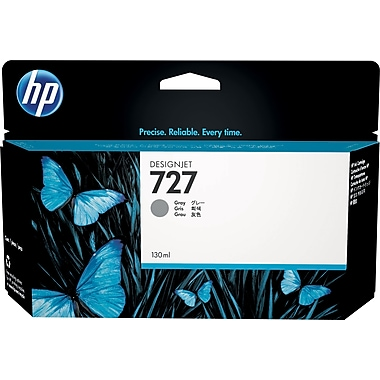 HP 727 130ml Gray Ink Cartridge (B3P24A), High Yield