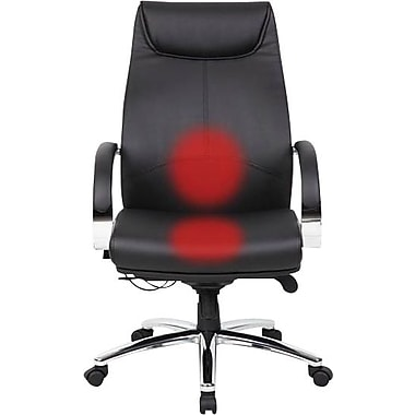 BOSS Heated Executive Chair, Black