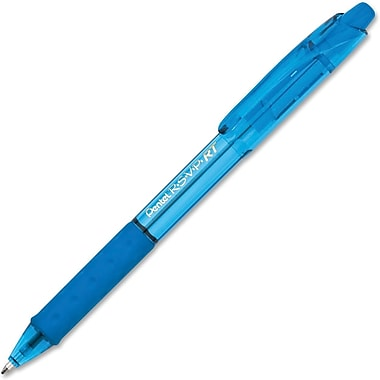 Pentel® R.S.V.P. Retractable Ballpoint Pen, Medium 1.0mm Tip, Sky Blue