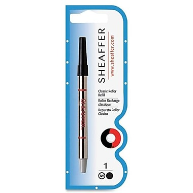 Sheaffer® Rollerball Classic Pen Refills, Medium 1.0mm Tip, Black