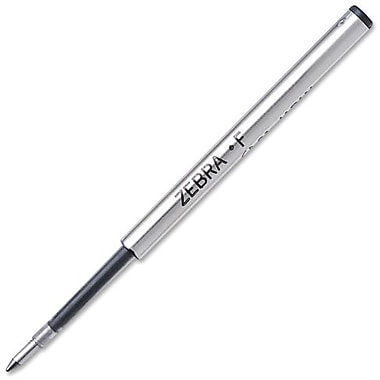 Zebra® F-Refill For F-301, F-301 Ultra, F402, F701 & Expandz Pen Refill, Medium 1.0mm Tip, Black