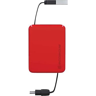 Scosche retractable charge, microBOX
