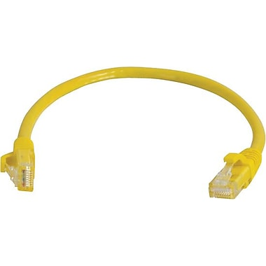 C2G Cat5e Snagless UTP Unshielded Network Patch Cable, 7.6m/25', Yellow