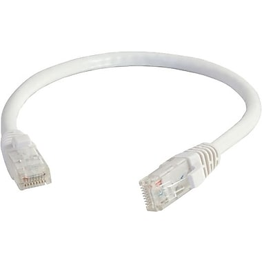C2G Cat5e Snagless UTP Unshielded Network Patch Cable, 4.2m/14', White