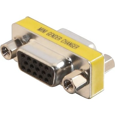 C2G HD15 VGA F/F Mini Gender Changer, Coupler)