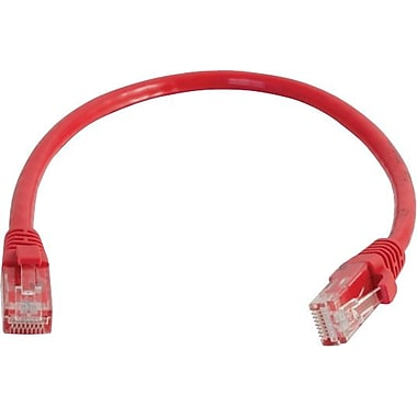 C2G Cat5e Snagless UTP Unshielded Network Patch Cable, 4.2m/14', Red