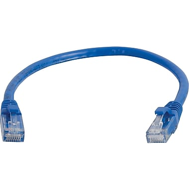 C2G Cat6 Snagless UTP Unshielded Network Patch Cable, 7.6m/25', Blue