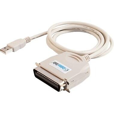 C2GMB – Câble parallèle adaptateur USB IEEE-1284 d'imprimante de 1,8 m/6 pi