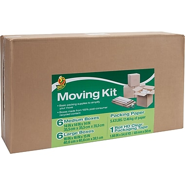 Duck Branded Moving Kit