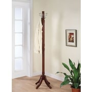 Powell® Contemporary Coat Rack, Merlot