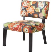Powell® Bright Floral Print Wood/Fabric Accent Chair
