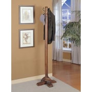 Powell® Coat Rack, Woodbury Mahogany